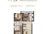 神3户型-3室2厅2卫-108.0㎡